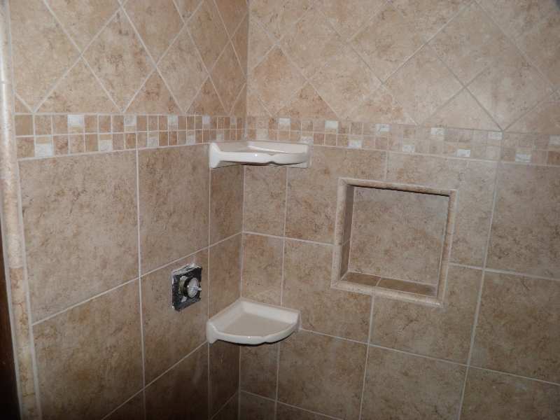 Bathroom tile for floors and showers h h huehl construction Bathroom tiles design photos